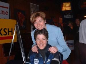 Maryse et Annie Perreault ont été parmi les premiers athlètes à bénéficier des avantages que procure la protéine IMMUNOCAL