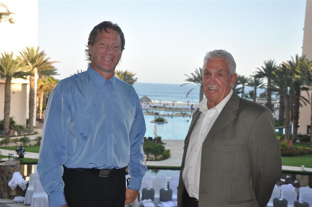 Des vacances de rêve avec mon père Claude en septembre 2011 à Los Cabos, au Mexique!
