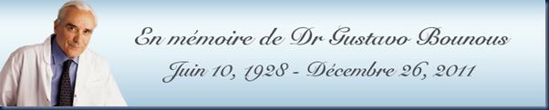 En mémoire du Dr Gustavo Bounous