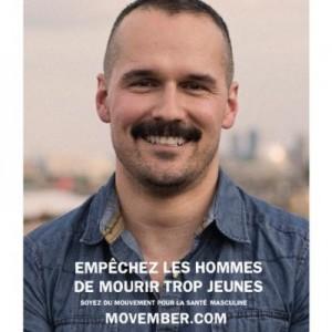 Patrice Lavoie, Movember